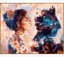 NB967R Картина по номерам Звездная пантера Babylon