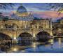 MR-Q1127 Картина раскраска Сумерки над Римом Mariposa