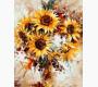 MR-Q1121 Картина раскраска Солнечные цветыMariposa