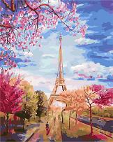 art story картина париж - фото