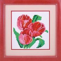 алмазная вышивка тюльпаны