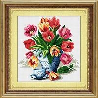 алмазная живопись тюльпаны