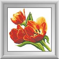 алмазная мозаика тюльпаны