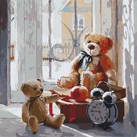Картина по номерах ведмедик