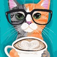 Картина по номерах котик