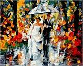 Картина осенняя свадьба леонида афремова