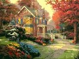 картина осень томаса кинкейда