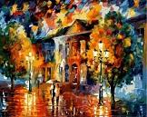 Картина краски осени Леонида Афремова