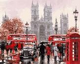 Картина Осень в Лондоне своими руками
