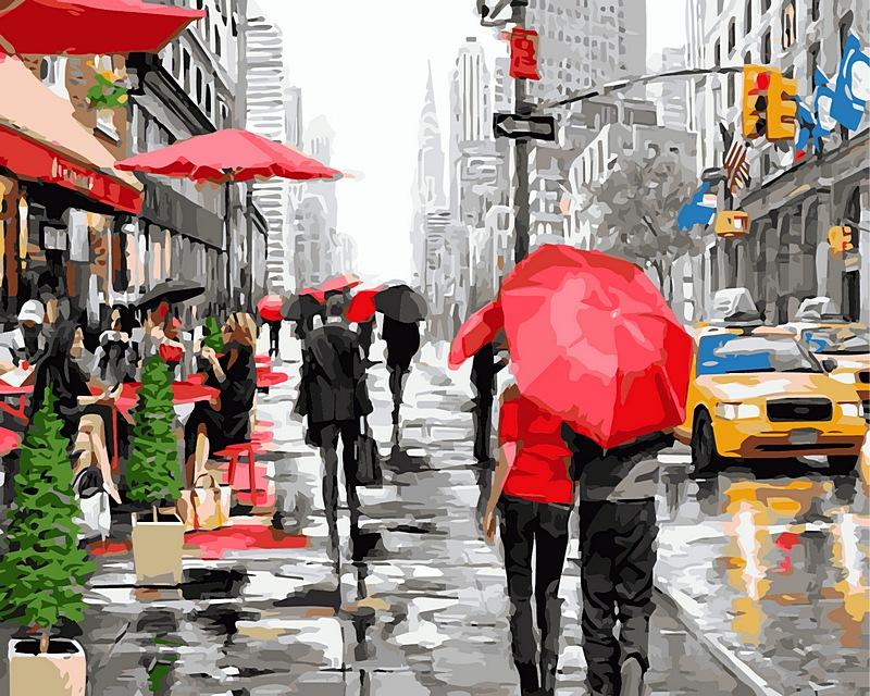 раскраска Манхеттен