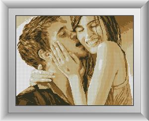 алмазная вышивка поцелуй фото