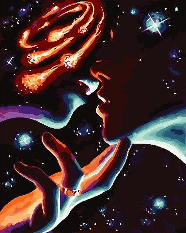 Картина по номерам Космические чувства ArtStory