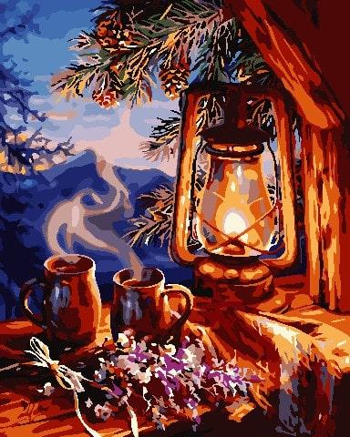 Картина по номерам Душевный вечер ArtStory