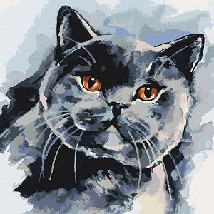 британский котейка картина идейка