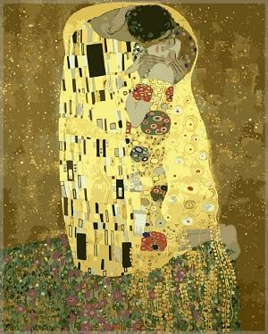 известная картина Поцелуй Густава Климта