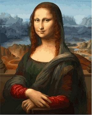 интересные картины Мона Лиза