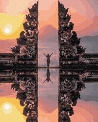 Картины по номерам Бали производитель BrushMe