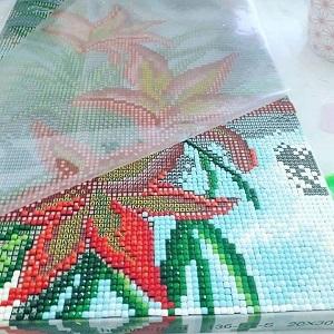 алмазная вышивка на подрамнике как ее делать