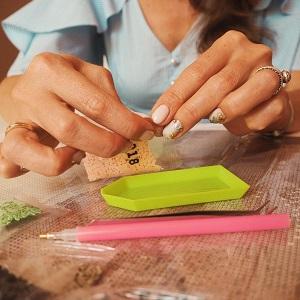 как клеить алмазную вышивку