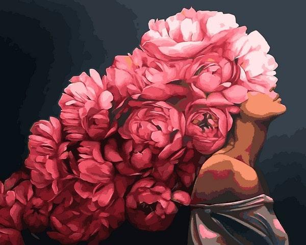 Mariposa - картина по номерам Страстная