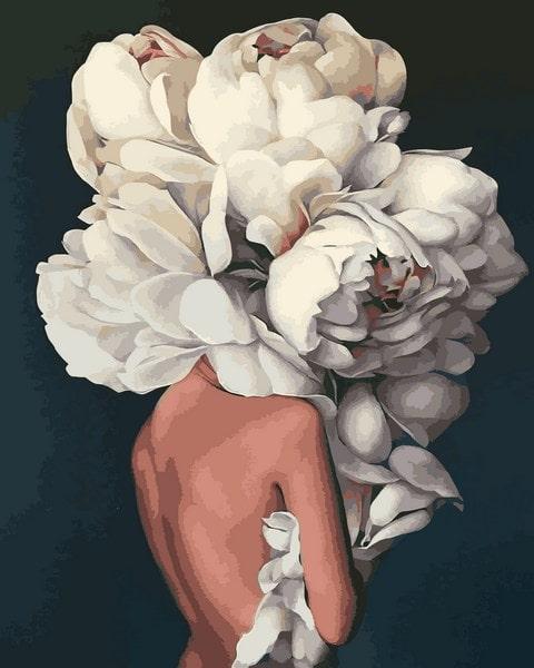 картина по номерам Mariposa Женственные пионы