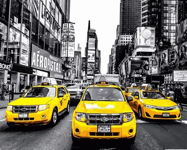 Mariposa - картина по номерам Нью-Йорк