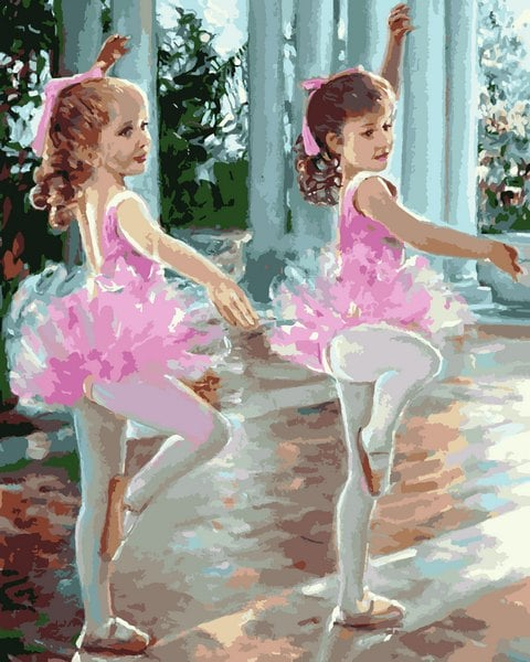 Mariposa: Картина по номерам Маленькие балерины