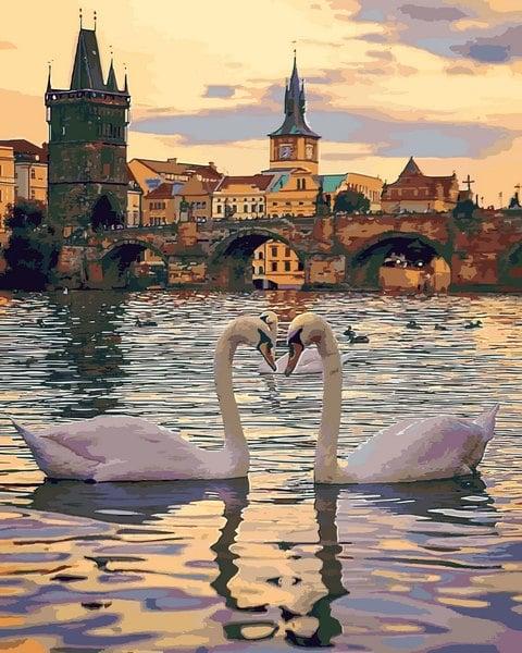 Mariposa Картина по номерам Романтическая Прага