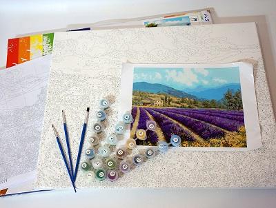 набор для рисования красками