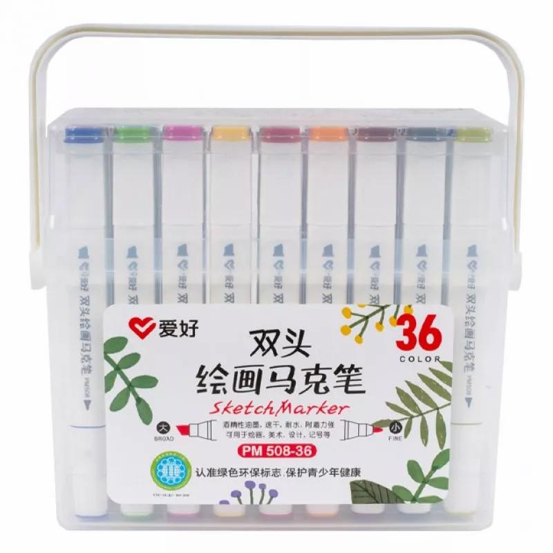 скетч маркеры набор 36 цветов