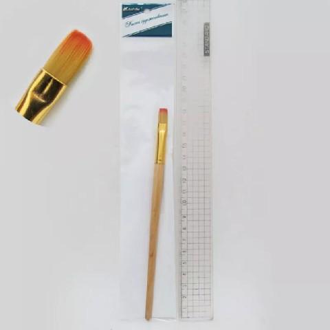 кисть для рисования акрилом