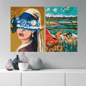 Виктория Коваленко картины раскраски по номерам
