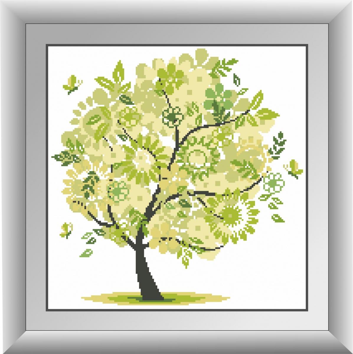 Алмазная вышивка дерево