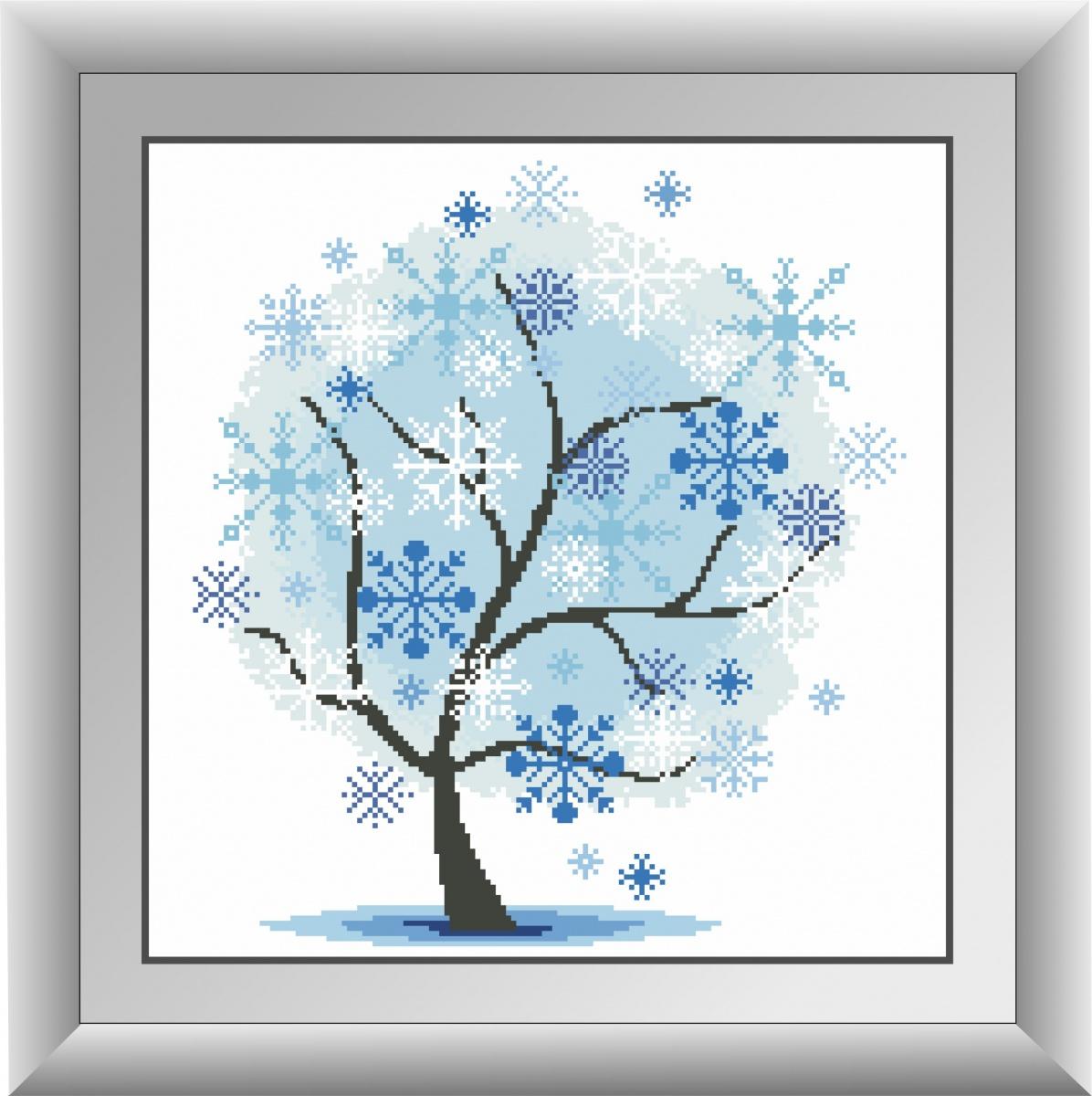 алмазная живопись дерево
