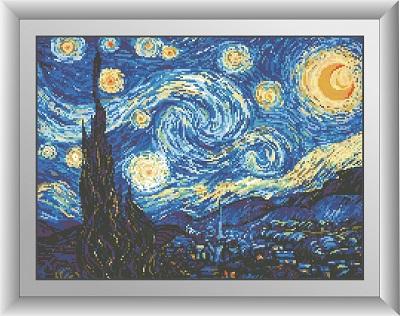 Алмазная живопись Ван Гог