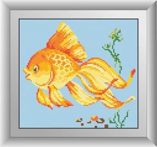 алмазная мозаика рыбка